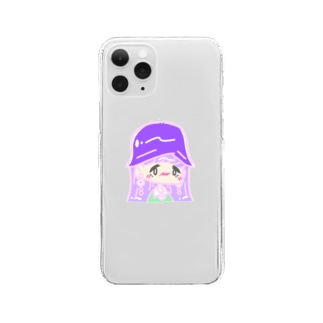 【emomeral】 ~近ヅイテ/クリアスマホケース~ Clear smartphone cases