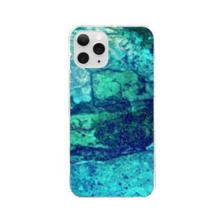 水の底 Clear smartphone cases
