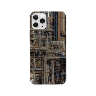 配管工場 Clear smartphone cases
