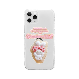 Cookie Bunny Mobile Case Clear smartphone cases