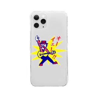 オーイェー!! Clear smartphone cases