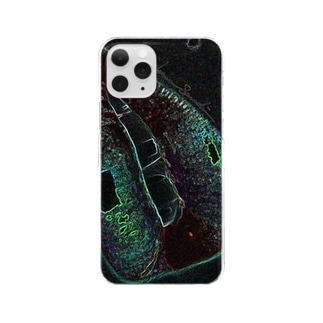 Green Rip Clear smartphone cases