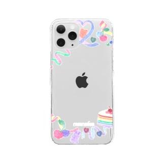 sticker deco case Clear smartphone cases