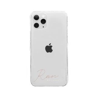 第二弾オリジナルスマートフォンケース Clear smartphone cases