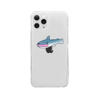 じんべぇざめ Clear smartphone cases