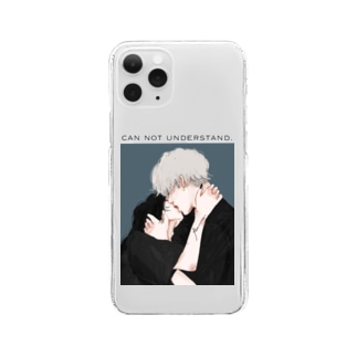 can not understand. Clear smartphone cases