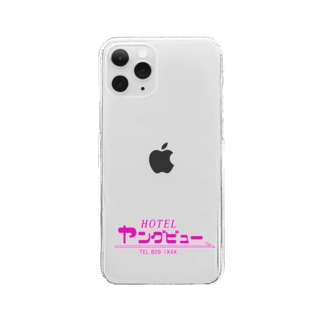HOTEL ヤングビュー 公式グッズ シリーズ2 Clear smartphone cases