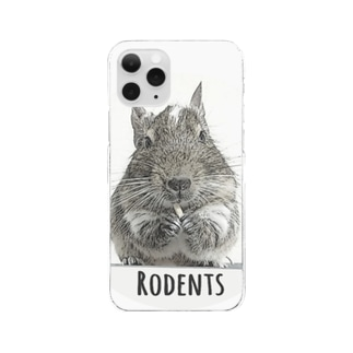 Rodents デグー  Clear Smartphone Case