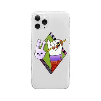 Ran KobayashiのHave Fun Clear smartphone cases
