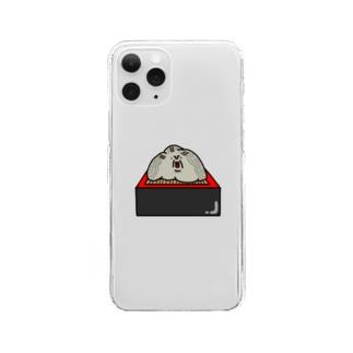 蕎麦フォンケース Clear smartphone cases