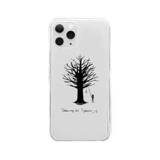 Tyburn jig -clear- Clear smartphone cases