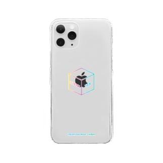 「ヒビキボックスロゴ」クリアスマホケース Clear smartphone cases