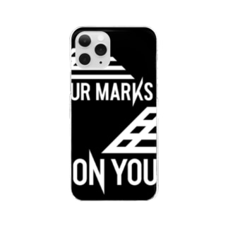 ON YOUR MARKS スマホケース Clear smartphone cases