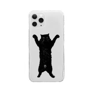 SAIWAI DESIGN STOREの森のこぐま(タテ) Clear smartphone cases