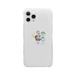 rainbowず Clear Smartphone Case