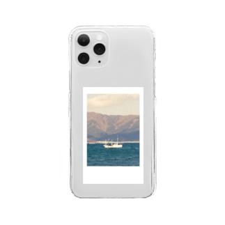 海(チェキデザイン) Clear smartphone cases