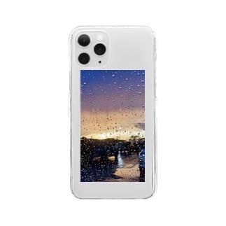 雨に唄えば Clear smartphone cases