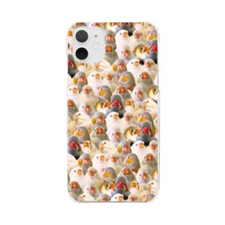 トラウマキンカ Clear smartphone cases