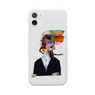 ふつうに2美 Clear smartphone cases