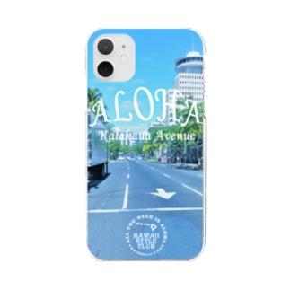Kalakaua Ave. Clear smartphone cases