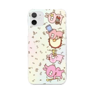 レプゥー 音楽隊 Clear smartphone cases
