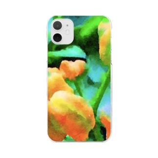 黄い実 Clear smartphone cases