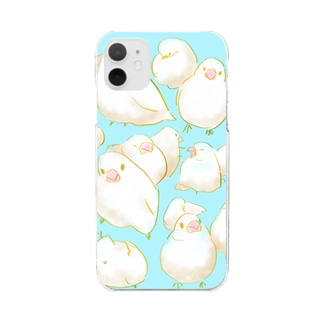 ぶんちょまつり Clear smartphone cases