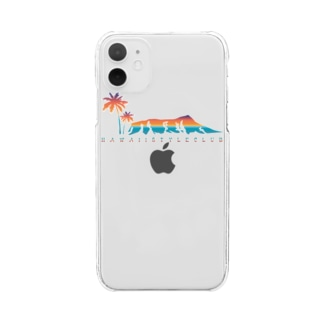 Waikiki view (Goods) Clear smartphone cases