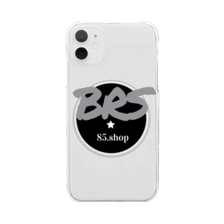 BRS85. (Gray) Clear smartphone cases