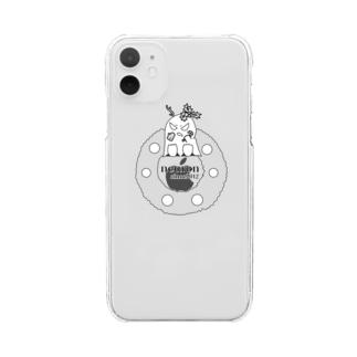 クリスマスを体現するあいつ Clear smartphone cases