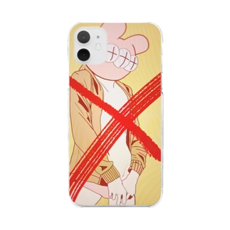 PSYCHOなRABBIT(?) Clear smartphone cases