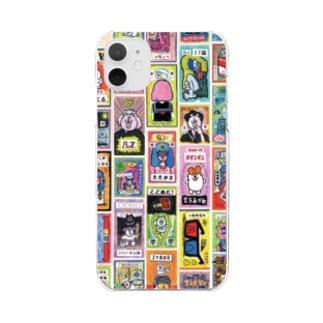 ドロウイングレシートA Clear smartphone cases