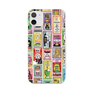 ドロウイングレシートB Clear smartphone cases