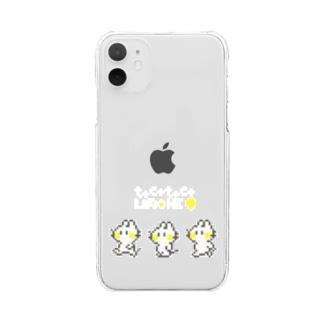 ドットトコトコリモーネちゃん Clear smartphone cases