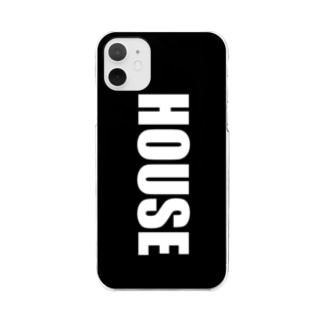 HOUSEスマホケース Clear smartphone cases
