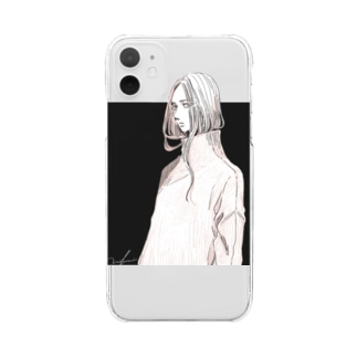 no title Clear smartphone cases