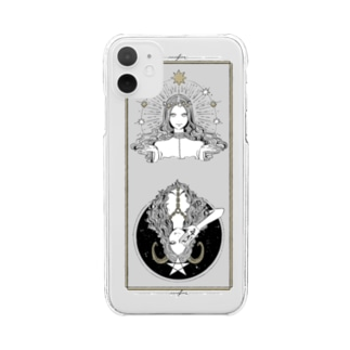 luck un luck Clear smartphone cases