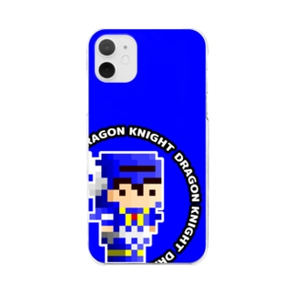 New_ドラゴンナイト Clear smartphone cases