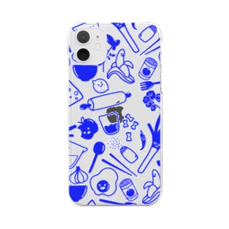 Let's Cook Together! Clear smartphone cases