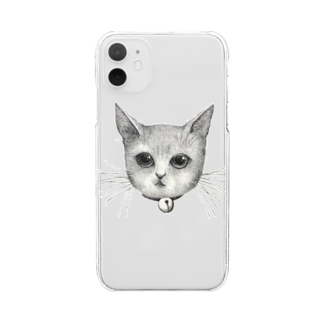 ArtSpringsのThe face Clear smartphone cases