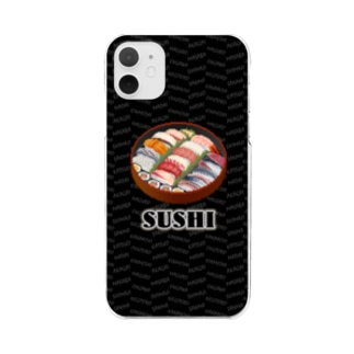 SUSHI_2_1C Clear smartphone cases