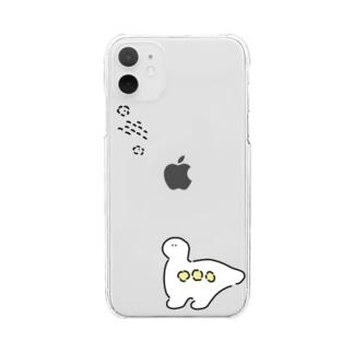 キョーリュー Clear smartphone cases
