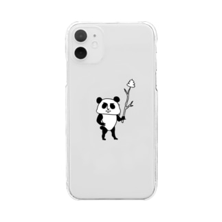 PANDA Clear smartphone cases