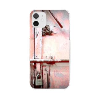 錠前 Clear smartphone cases