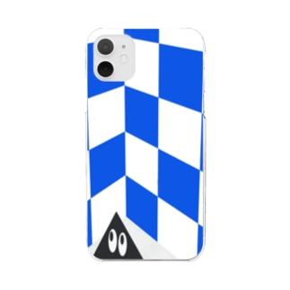 電気街の撮影会 Clear smartphone cases