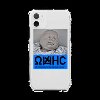 山口 むつおのΩ凶印HAPPYCOMES Clear smartphone cases