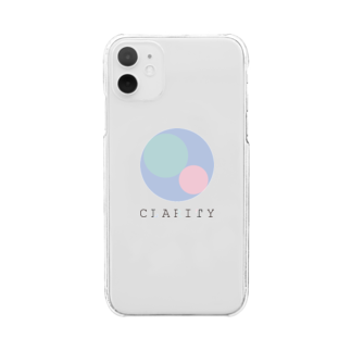 CLARITYのRipple Clear smartphone cases