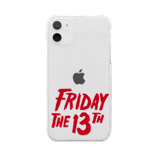 NIPPON DESIGNのFRIDAY THE 13TH Clear smartphone cases