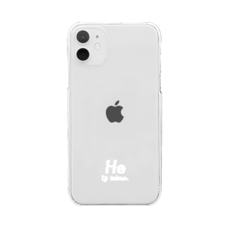 He. 【11size】 Clear smartphone cases