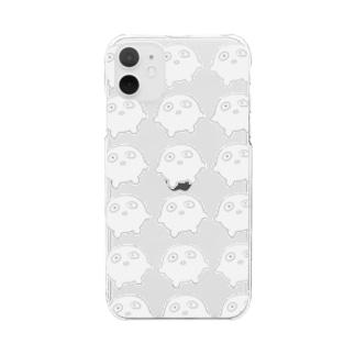 もちの大群 Clear smartphone cases